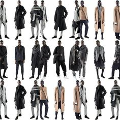 "Straight outta New York trends in #menswear  #Military #oversized #unstructuredjackets # @AbasiRosborough Fall/Winter 2015 ""Orison"" Collection   #NewYorkstreetwear #mensblog #mensaccessories #mensouterweartrends #fashionnews #luxury #streetwear #streetluxe #dandy #bespoke #mensfashiontrends #dandystyle #gq #complex #hypebeast #urban #cyclists #mensstyle #malemodels #mensjackets #mensfashionpost #mensfashionblog #mensfashionnetwork  #AbasiRosborough"