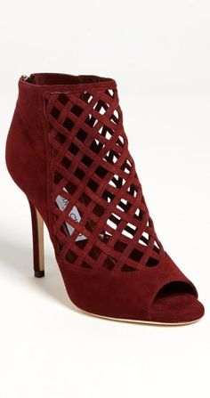 Caged bootie: Jimmy Choo 'Drift' Bootie - swoon.