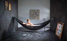 Hammock Bathtub by Splinter Works