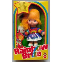 Rainbow Brite ... Mine is still in the box like this too. That took a lot of discipline for a young child. :)