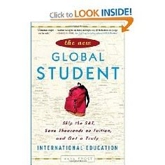 The New Global Student will show you how to completely avoid the angst and expense of the traditional college admissions game.