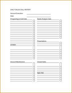 80 20 Prospect Sheet Customer Call Follow Up | Call Sheet | Pinterest