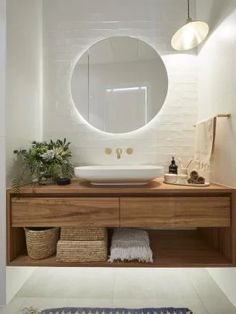 Home Interior Industrial 5 bathroom trends about to be huge according to The Block - Vogue Australia.Home Interior Industrial 5 bathroom trends about to be huge according to The Block - Vogue Australia Bathroom Trends, Bathroom Renovations, Home Remodeling, Bathroom Ideas, Bathroom Organization, Remodel Bathroom, Bathroom Designs, Bathroom Storage, Bathroom Inspo