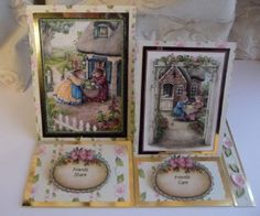 Double Upright Easel Card by Sheila Weaver