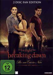 Twilight: Breaking Dawn - Bis(s) zum Ende der Nacht Teil 1 auf DVD