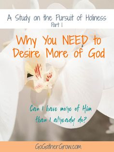 Desire More of God |