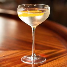 Pay tribute to 007 by mixing up one of his signature cocktails, the Vesper. #cocktails #jamesbond