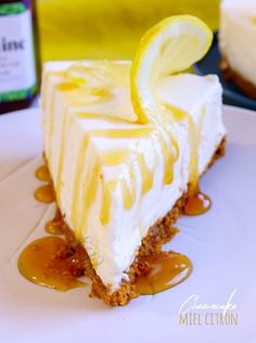 Lemon honey cheesecake without baking - Cheesecake Recipes Cheesecake Leger, No Bake Oreo Cheesecake, Baked Cheesecake Recipe, Cheesecake Squares, Oreo Cake, Blueberry Cheesecake, Lemon Cheesecake, Brownie Cookies, Cranberry Muffins