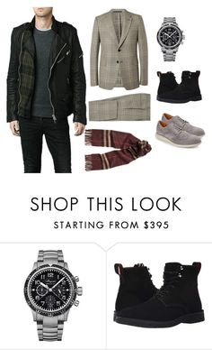 """""""grrr"""" by azra-v ❤ liked on Polyvore featuring Breguet, Paul Smith, Cole Haan, men's fashion and menswear"""