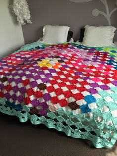 Ibiza style coverlet or rug