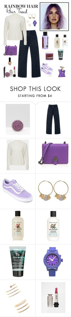 """Rainbow Hair - Lavender"" by sereneowl ❤ liked on Polyvore featuring beauty, Anna Sui, Blazé Milano, Bottega Veneta, Vans, Christian Dior, Bumble and bumble, Nixon, Forever 21 and Bond No. 9"
