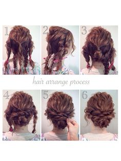 Simple updos for long curly hair - New Haa Einfache Hochsteckfrisuren für lange lockige Haare – Neu Haare Frisuren 2018 Simple updos for long curly hair hair - Natural Hair Styles, Short Hair Styles, Curly Hair Bun Styles, Natural Curls, Updo Styles, Hair Arrange, Long Curly Hair, Thick Hair, Curly Updos For Medium Hair