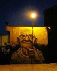 Love it 3d Street Art, Urban Street Art, Murals Street Art, Amazing Street Art, Street Art Graffiti, Street Artists, Urban Art, Amazing Art, Awesome