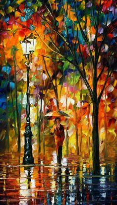 Circle of Сomfort — PALETTE KNIFE Oil Painting On Canvas By AfremovArtStudio, $239.00