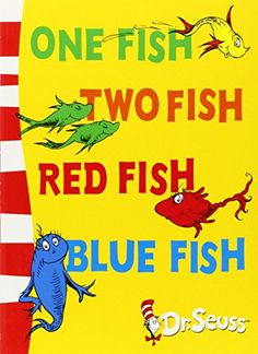 One Fish, Two Fish, Red Fish, Blue Fish: Blue Back Book (Dr Seuss - Blue Back Book) (Dr. Seuss Blue Back Books): Amazon.co.uk: Dr. Seuss: 9780007158560: Books