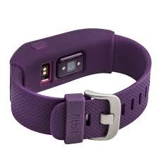 Image result for fitbit charge hr plum