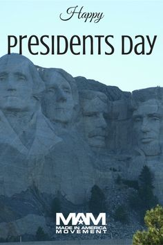 Happy #PresidentsDay! From the history of the first inhabitants to the diversity of America today, Mount Rushmore brings visitors face to face with the rich heritage we all share.   Mount Rushmore is one of our most iconic national monuments, depicting the faces of past U.S. presidents carved into the South Dakota mountainside.   Which is your favorite #President?   #potus #mountrushmore #southdakota #washington #jefferson #lincoln #roosevelt #buyamerican #madeinusa #nationalmonument