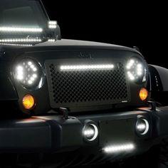 Putco Putco Luminix LED Headlights is available at Sams Motorsports Jeep Jeep, Sams, Led Headlights, Car Lights, Bulbs, Lightbulbs, Bulb