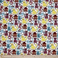 Katz Fabric Multicoloured 120 cm