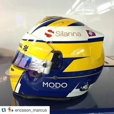 #Repost @ericsson_marcus with ME9 Marcus Ericsson new helmet 2016 @bellhelmetseurope by @360gfx_com . Same design apart from some minor details. Do you guys like it!? #ME9 #F12016
