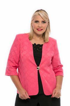 ružové vzorované sako pre moletky Spring Summer, Sweaters, Fashion, Moda, Fashion Styles, Sweater, Fashion Illustrations, Sweatshirts, Pullover Sweaters