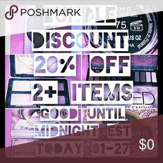Shop makeup sale! Final TEN MINUTES!!! 20%-70% off Must read ...