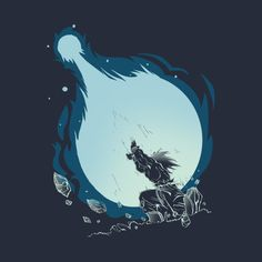 Awesome 'Kamehameha' design on TeePublic!
