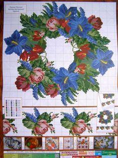 Cross stitch Pattern Ukrainian Flowers Embroidery Vyshyvanka Wedding Rushnyk 9 r in Crafts, Needlecrafts & Yarn, Embroidery & Cross Stitch, Hand Embr Patterns & Magazines, Cross Stitch Patterns   eBay