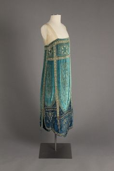""" Callot Soeurs evening dress ca. 1926  From the Robert and Penny Fox Historic Costume Collection at Drexel University  """