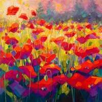 Poppies Cubed by Jennifer Bowman