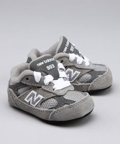 New Balance shoes for babies :) My favorite! I wonder if we can find a matching pair for mommy and Sophia!