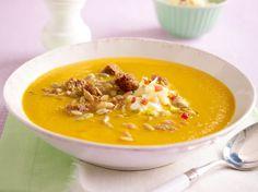 Unser beliebtes Rezept für Brainfood-Suppe mit Kokosmilch & Möhren und mehr als 55.000 weitere kostenlose Rezepte auf LECKER.de.