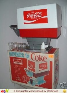 My very own Coke fountain!  http://media-cache-ak1.pinimg.com/originals/f2/1e/7c/f21e7c02b346a1c4d03dc3a2c87c542a.jpg