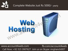 Account4WEB || Web Hosting in Pakistan.: Professional Web Designing Services || Account4WEB...