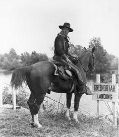 John Wayne - Horse Soldiers