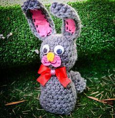Zajączek na szydełku/ Bunny crochet (caption eng)