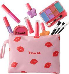 Girls Makeup Set, Little Girl Makeup Kit, Makeup Kit For Kids, Little Girl Toys, Kids Makeup, Toys For Girls, Fake Makeup, Makeup Toys, Unicorn Fashion