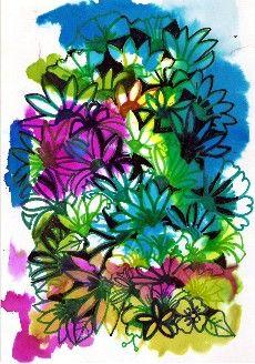 Arts Visuels Ecole bouquet de fleurs
