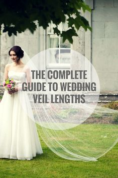 See the ultimate guide for finding the perfect bridal veil for your wedding! Explore beautiful veil styles, including birdcage, chapel, cathedral, and more! The Ultimate Guide to Bridal Veils