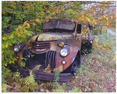 1941 Chevy Flatbed, near Newcomb, NY