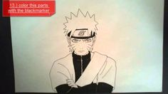 PLEASE READ today i made a step by step tutorial on how to draw naruto in his sage mode so i hope this is helpfull for you. don't forget to subscrieb comment. Naruto Drawings, Anime Sketch, Drawing Tutorials, Sketches, Memes, Art, Drawings, Art Background, Meme