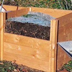 Wooden Modular Compost Bin - 620 litres