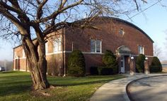 Newby Gym or Newby Dome in Mooresville. The old Mooresville gym, built in 1921, was used by the Mooresville Pioneers until 1959. Next to Newby Elementary School, it is still used by boys and girls in junior basketball leagues. On a fall evening, it's nice to drive by and see the place lit up and the front doors open and hear the squeak of shoes on the floor.
