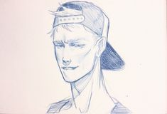 Adam portrait in snapback by i-am-weis.tumblr.com #TheRavenCycle #TRC #AdamParrish