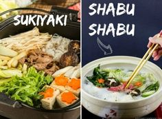 Authentic Sukiyaki recipe with seared marbled beef and a variety of vegetables including enoki, shungiku, and napa cabbage cooked in a soy sauce broth. Japanese Sukiyaki Recipe, Shabu Shabu Recipe, Pork Recipes, Asian Recipes, Gourmet Recipes, Cooking Recipes, Healthy Recipes, Vegan, Kitchens