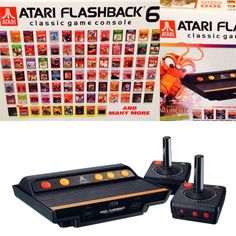 Atari Flashback 6 Classic Game Console NEW - http://video-games.goshoppins.com/video-game-consoles/atari-flashback-6-classic-game-console-new/