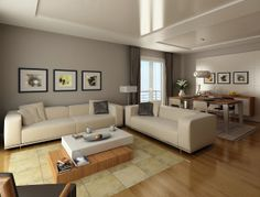 Modern Style Living Room Design