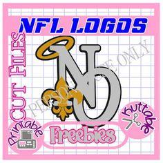 25 Days of NFL Cut File Freebies!  New Orleans Saints!
