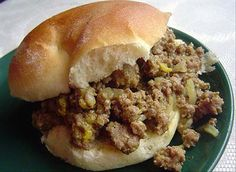 I have tried this recipe. they're Yummy! Photo by KC_Cooker Maid Rite Sandwiches, Loose Meat Sandwiches, Wrap Sandwiches, Sandwich Fillings, Sandwich Recipes, Food Dishes, Main Dishes, Sammy, Meat Appetizers