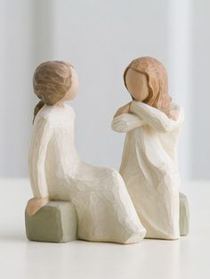 WillowTreeStore.com Heart and Soul by Willow Tree (open hearts, sharing souls, trusted friends)
